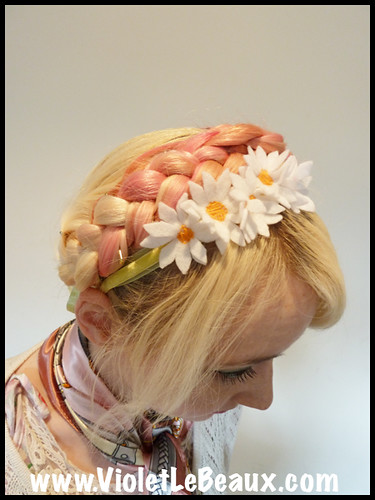 Daisy Hair Band Tutorial