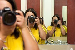 None of These is the Real Me {93/365} (~*~ KO ~*~) Tags: selfportrait reflection mirror nikon newyear 365 yellowshirt selfie iwantone iloveit pleasepleaseplease 365days ineedit d700 clichesaturday