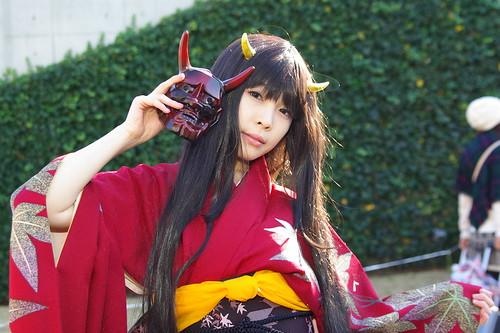 美しすぎる日本鬼子が気になって… コミケ(C79)のコスプレ画像集139枚