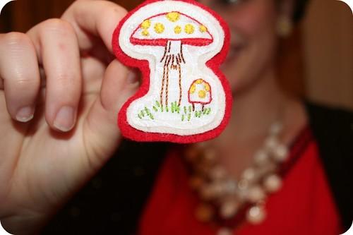 Mushroom Pin!