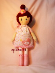 Anita! (AP.CAVALARI / ANA PAULA) Tags: baby kids doll bebe boneca anita decorao tecido bonecadepano fabricdoll anapaulacavalari apcavalari