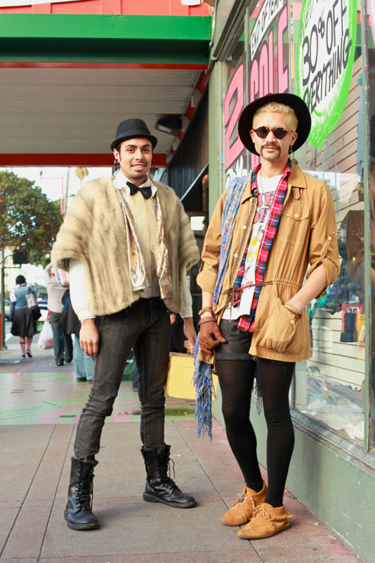 jesusandrhial - san francisco street fashion style