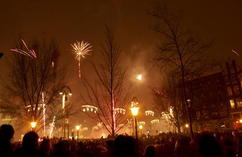 Fireworks in Nieumarkt