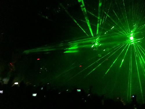 Waynes laser hands!