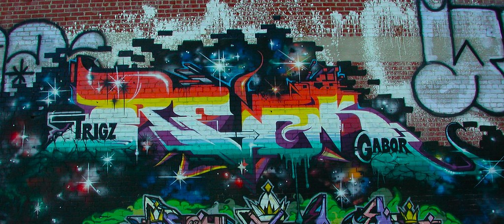 REVOK, MSK, AWR, Graffiti, Street Art, LA, Los Angeles