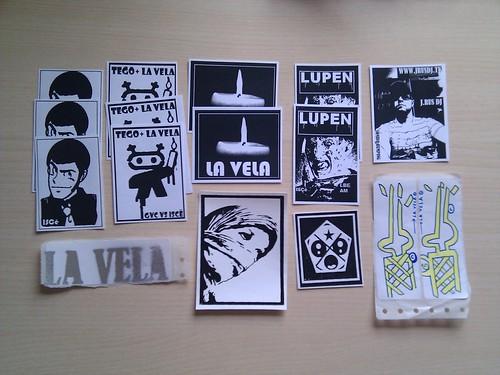 La Vela's pack!!
