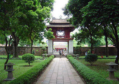 The Temple of Literature, Hanoi, Vietnam