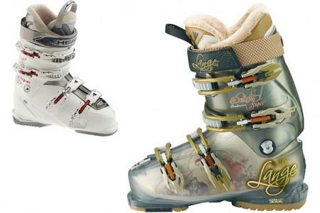Výběr lyžařských bot pro dámu