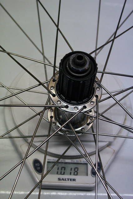 Wheel is built