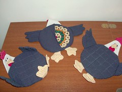 Aparadores Panela Galinha (PCPriscila) Tags: chicken patchwork potholder panela galinhas