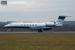 N628BD - 628 - Hewlett Packard - Gulfstream V - Luton - 110104 - Steven Gray - IMG_7510