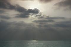 Silence and Dreams (Recovering Sick Soul) Tags: light sea cloud sun nature sunrise landscape shine gulf iran rays ایران نور nima persiangulf kishisland خلیجفارس fatemi ابر آسمان دریا سکوت صبح جنوب رویا آرامش خورشید آسمون نیما nimafatemi نیمافاطمی فاطمی