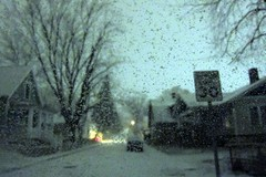 the snow (capwell) Tags: winter snow indiana bloomington blizzard bloomingtonin driverpic canonpowershots95