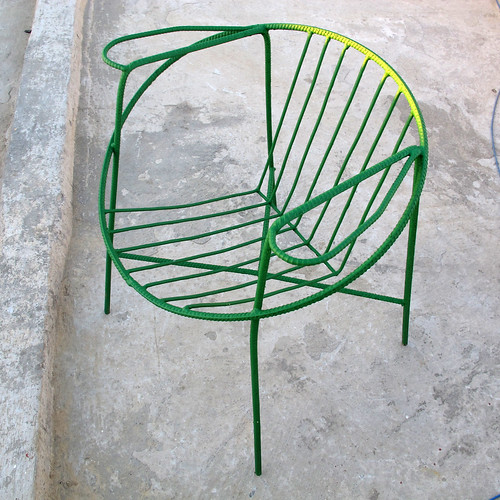 Trinidad, Cuba - rebar chair