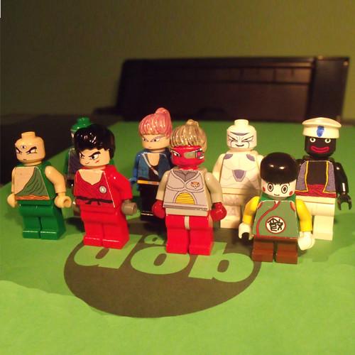 Custom Dragon Ball Z LEGO Minifigures