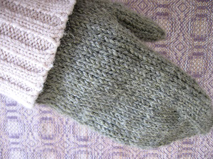 first Subway mitten completed