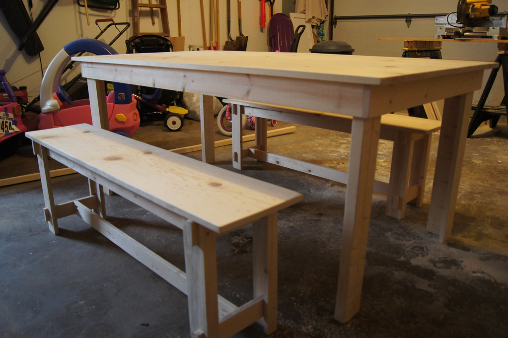 Ana White Build A Rustic Table Free And Easy Diy
