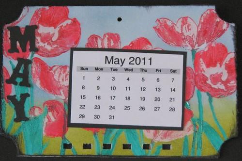 Ranger Technique Calendar - May - Liquid Pearls 015