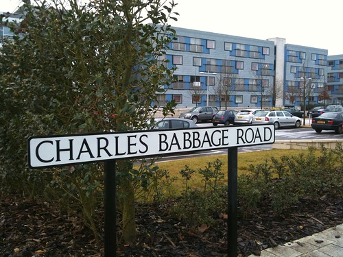 Charles Babbage Road