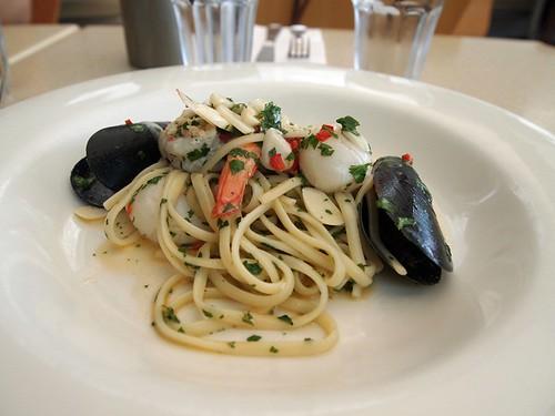 Seafood linguini@Berardo's