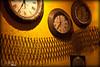 Ondas do Tempo - Waves of Time (Romero Filho) Tags: brazil clock paraná brasil canon waves watches time restaurante curitiba hora xs 1855 decoração tempo ondas relógios ponteiros 1000d romerofilho
