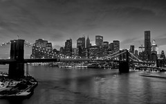 Cradle of Civilization (bijoyKetan) Tags: longexposure bridge bw newyork night brooklynbridge manhattanbridge ketan tamron1750mm bijoyketan