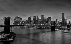 Cradle of Civilization (bijoyKetan) Tags: longexposure bridge bw newyork night brooklynbridge manhattanbridge ketan tamron1750mm bijoyketan