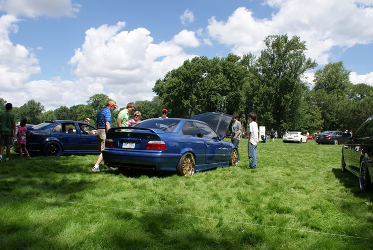 e36 M3 wearing Supernatural at the show