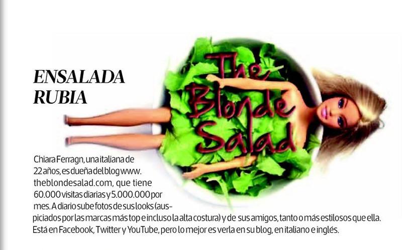 blond salad