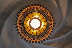 spiral (vil.sandi) Tags: barcelona spiral spain soe schnecke casabatlló modernisme gaudì ceilinglamp eixample deckenlampe photographyrocks windmillsspirals globulaaward platiumpeaceaward flickrawardgallery artistoftheyearlevel4 artistoftheyearlevel5 artistoftheyearlevel6