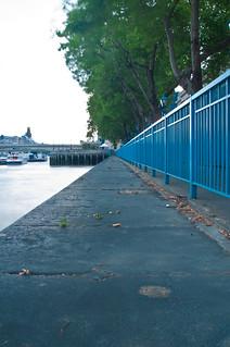 Thames Path - Custom House