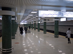 "Kyiv Subway, Holosiivska station • <a style=""font-size:0.8em;"" href=""http://www.flickr.com/photos/33205877@N00/5354043954/"" target=""_blank"">View on Flickr</a>"