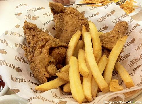 tokyo cafe fried chicken