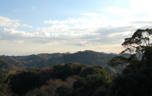 房総の丘から