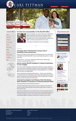 Carl Pittman for Harris County Sheriff - Campaign Website