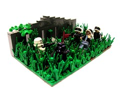 Yavin IV (LEGOBuilder&M) Tags: rebel lego darth stormtrooper vader iv base yavin
