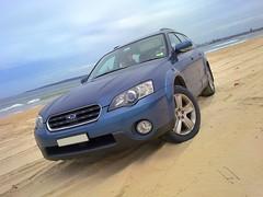 Beach 4wdriving (Taken with Nokia N97mini) (leonsidik.com) Tags: ocean blue beach water nokia sand waves driving dunes sydney australia 4wd leon subaru symetrical 2011 sidik n97mini