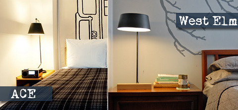 West Elm Loft Lamp Ace Hotel Bedside Lamps