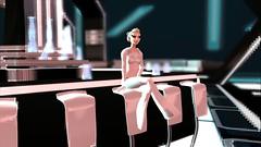 Re-sublimity - Club Scene (Myuuhi - Kitten Buddha) Tags: white secondlife siren trap androgynous femboy tronlegacy