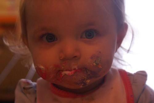 cupcake face :-)