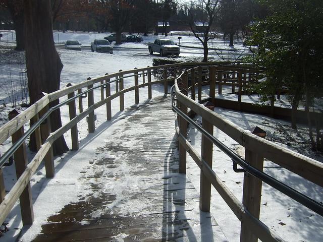 Montage barrierefreier Geländer nach BGG  - Lincoln Birthplace NHP
