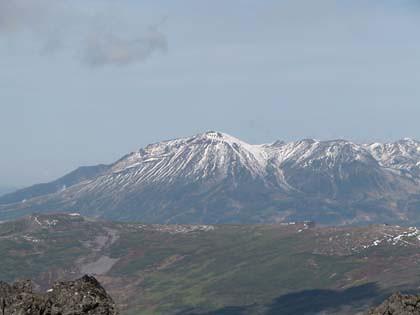 雪景色の大雪山