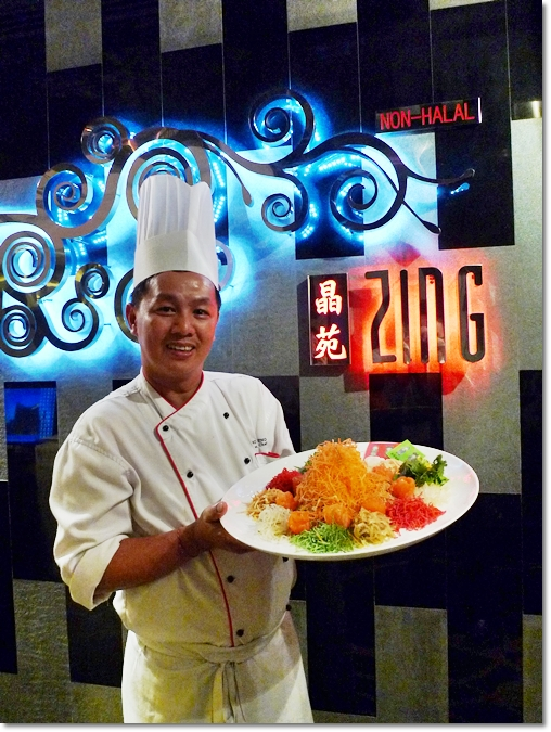 Chef @ Zing with Yee Sang