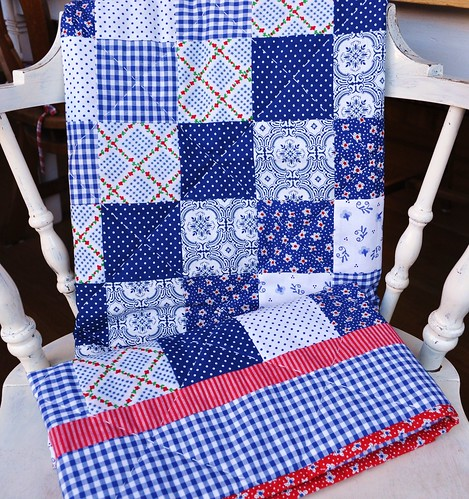 dutch fabric quilt