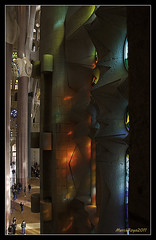 Reflex (Mercè Royo (NERET)) Tags: barcelona colors reflex catalonia catalunya sagradafamília ciutats detalls neret riotofcolours mercèroyo
