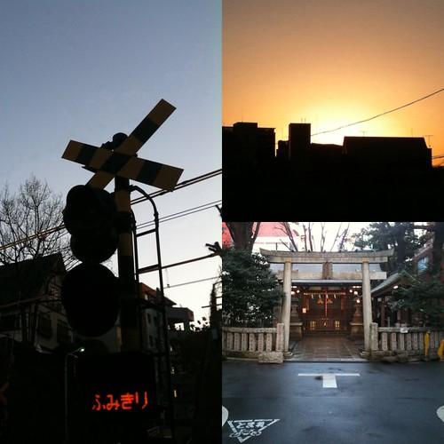 早朝ウォーキング(2011/1/21):代官山など
