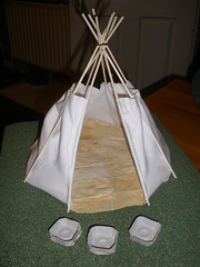 Tipi project - the floor and some bowls