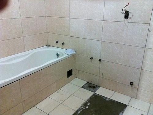 施工第十一天-廁所
