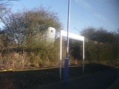 Arriving at White Notley 006 (tomylees) Tags: white station platform railway signpost essex notley