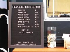 RVEILLE COFFEE CO. Menu (slowpoke_taiwan) Tags: sanfrancisco ca street coffee truck cafe pacific frenchpress financialdistrict financial sansome rveillecoffeeco rveill